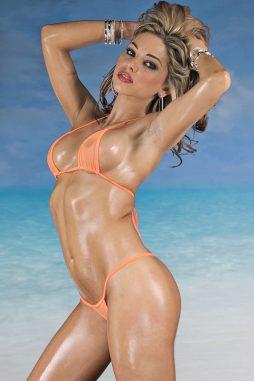 DoubleTake Microwear Mesh Micro Bikini