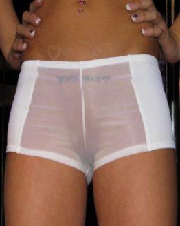Transparent Hugger Shorts